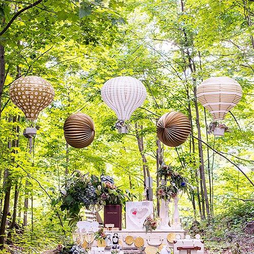 Hot Air Balloon Paper Lanterns