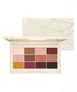 Jouer Rose Gold Matte & Shimmer Eyeshadow Palette - No Color