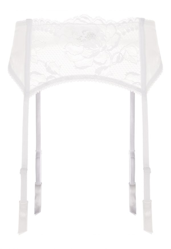 La Perla - Begonia Garter Belt For Women - Size XS - White