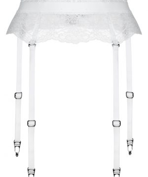 La Perla - Charisma Suspender Belt/bracelet For Women - Size M - Natural - Lycra