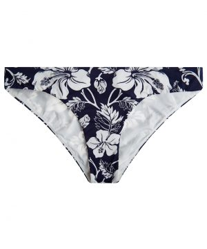 La Perla - Fleurs Du Futur Low-Rise Bikini Briefs For Women - Size 4 - Dark Blue