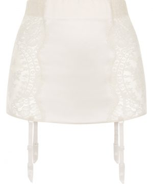 La Perla - Freesia Garter Belt For Women - Size XS - Natural