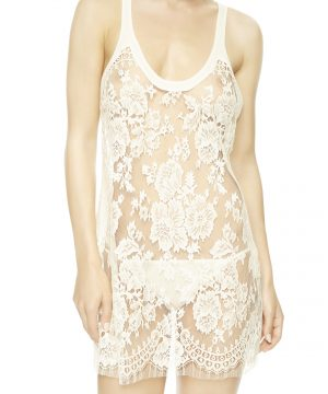 La Perla - Freesia Lingerie Slip For Women - Size S - Natural - 82 Cm Long