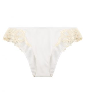La Perla - Maison Panty Brief For Women - Size S - Natural