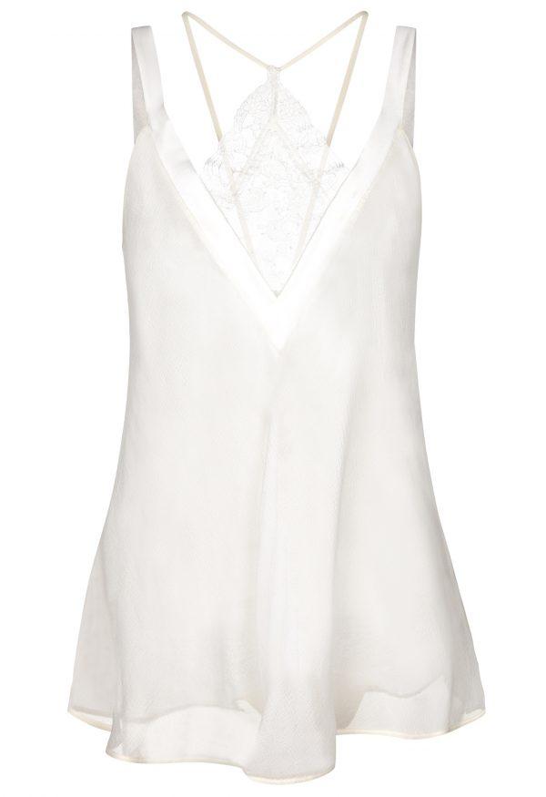 La Perla - Shape-Allure Babydoll Lingerie For Women - Size XS - Natural - 75 Cm Long