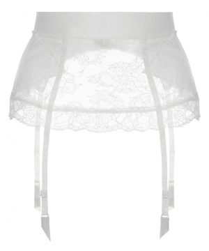 La Perla - Shape-Allure Garter Belt For Women - Size XS - Natural - Lycra