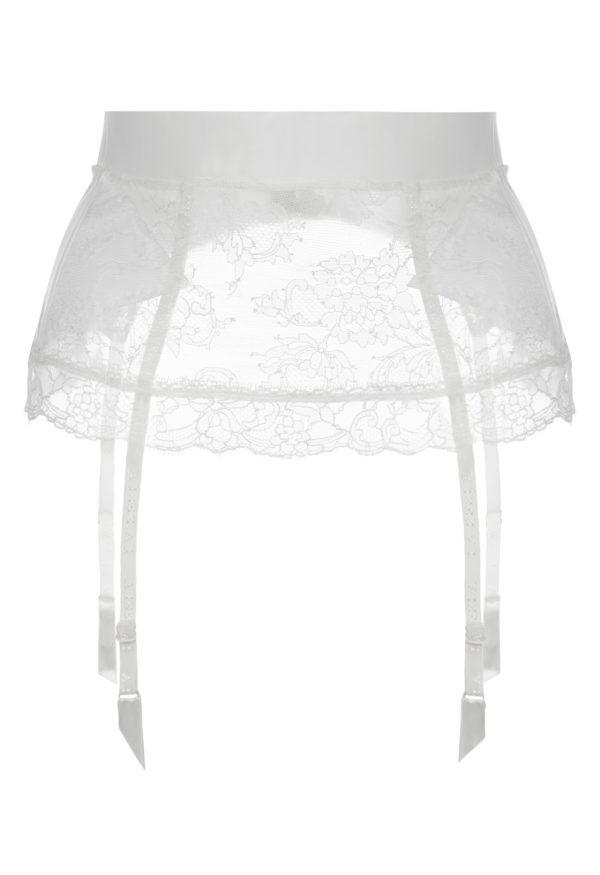 La Perla - Shape-Allure Garter Belt For Women - Size XS - Natural - Lycra