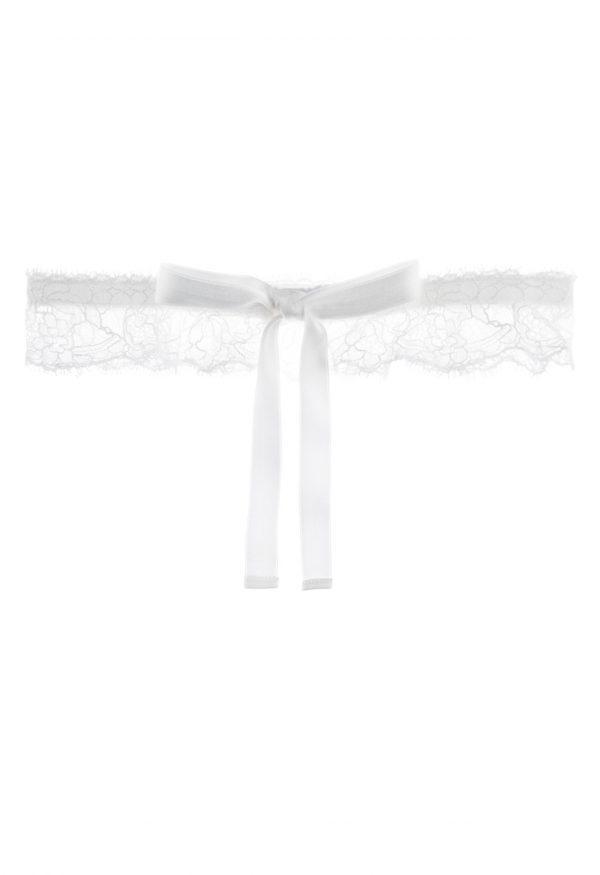 La Perla - Shape-Allure Garter For Women - Size 36 - Natural