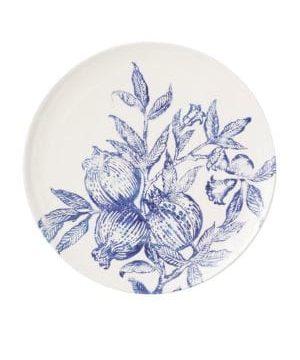 Large Melagrana Blu Serving Bowl