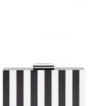 Like Dreams Pippa Stripe Box Clutch -