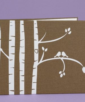Lovebirds Tree Guest Book