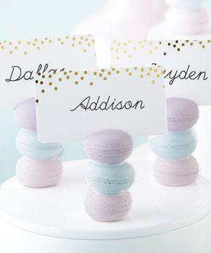 Macaron Place Card Holder (Set of 6)