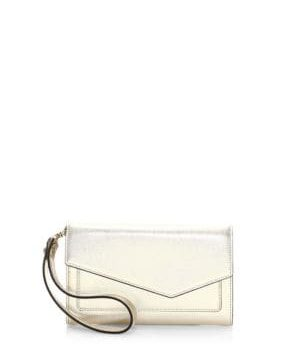 Metallic Cobble Hill Clutch
