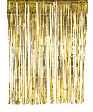 Metallic Foil Curtain