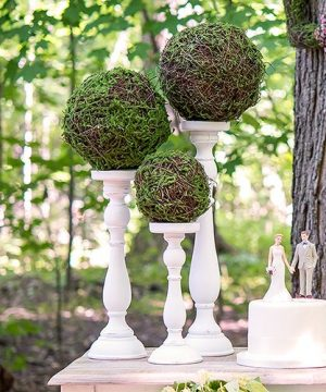 Moss And Wicker Pomander