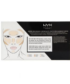 NYX Cosmetics Highlight & Contour Cream Pro Palette