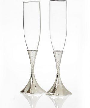 Nambe 'Dazzle' Champagne Toasting Flutes