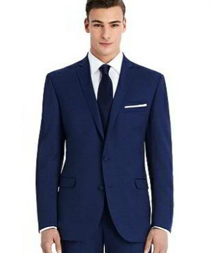New Blue Slim Suit Jacket - The Harrison by After Six