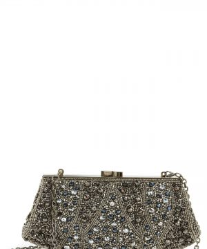 Nordstrom Beaded Rivoli Clutch -