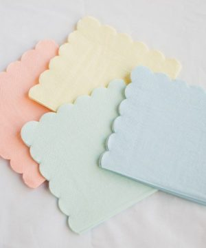 Pastel Assorted Napkins