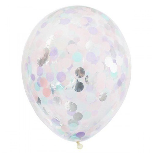 Pastel Confetti Balloon