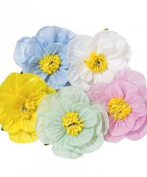 Pastel Flower Decorations