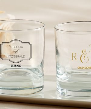 Personalized 9 oz. Rocks Glass - Classic