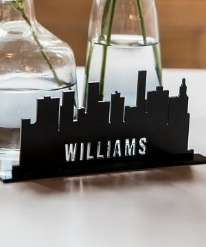 Personalized Cityscape Sign