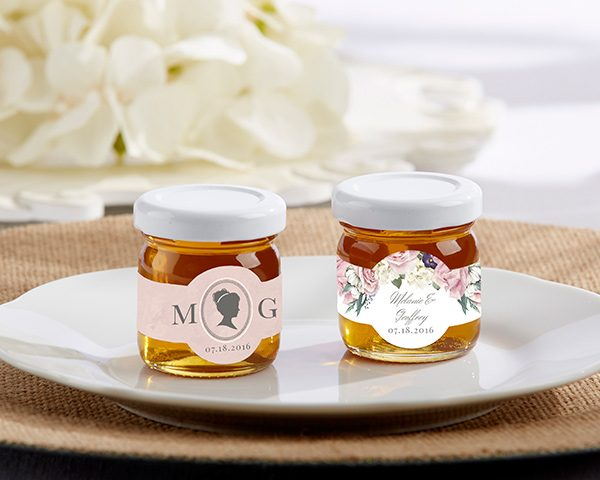 Personalized Clover Honey - English Garden (Set of 12)