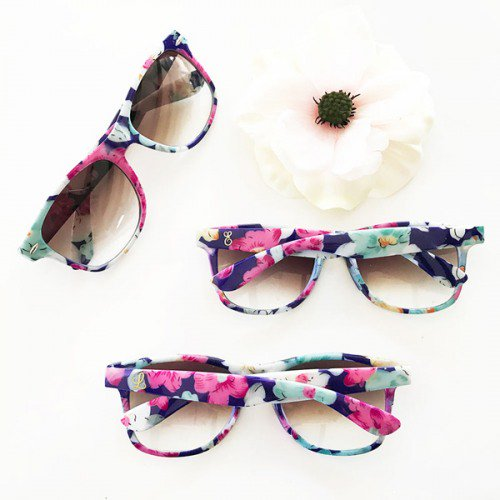 Personalized Floral Sunglasses
