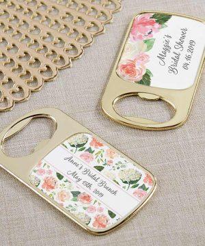 Personalized Gold Bottle Opener - Bridal Brunch