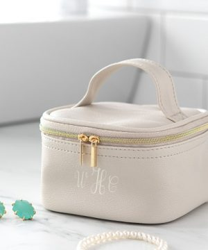 Personalized Jewelry Travel Case