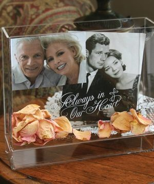 Personalized Memorial Box Frame