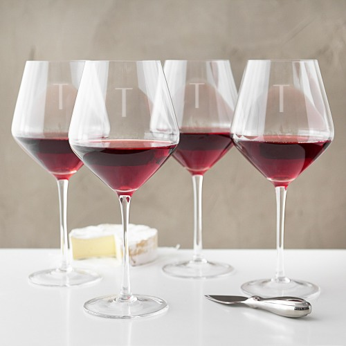 Personalized Red Wine Estate Glases