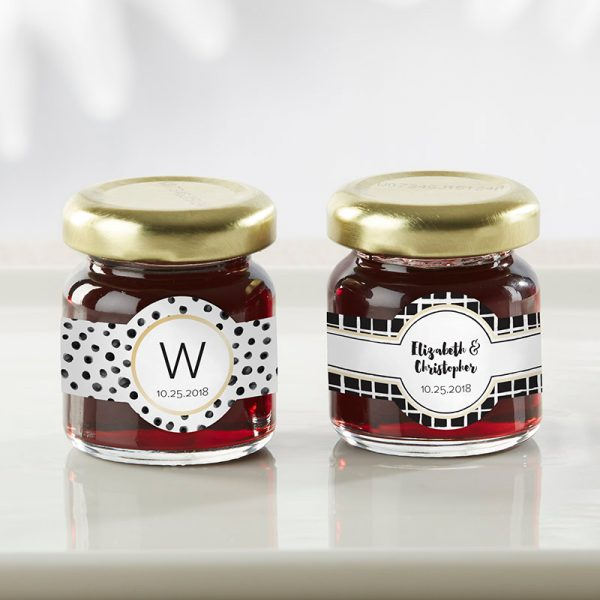 Personalized Strawberry Jam - Modern Classic (Set of 12)