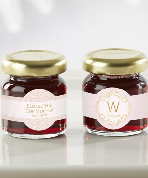 Personalized Strawberry Jam - Modern Romance (Set of 12)