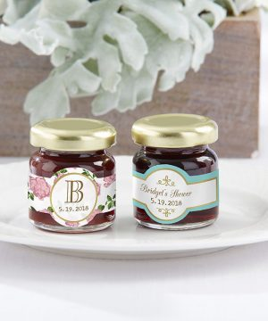 Personalized Strawberry Jam - Tea Time (Set of 12)