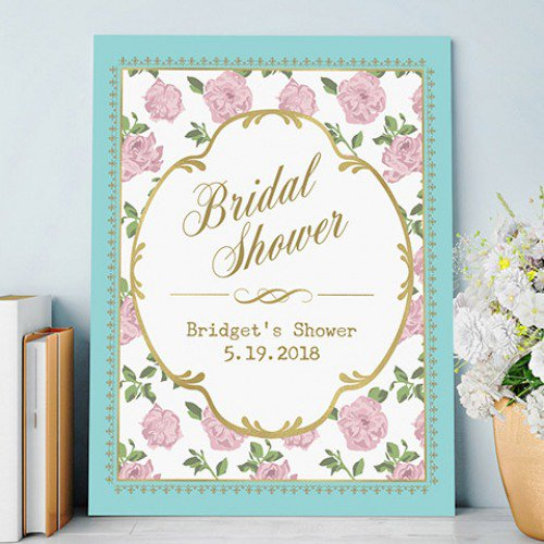 Personalized Tea Time Poster