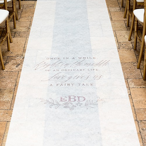Personalized Theme Aisle Runner