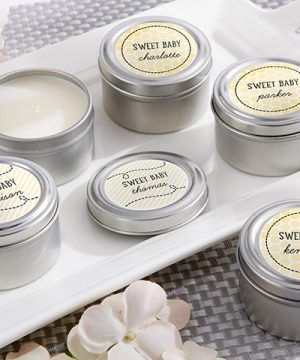 Personalized Travel Candle - Kate's Sweet as Can Bee Collection
