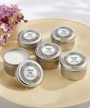 Personalized Travel Candle - Travel & Adventure