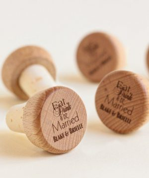 Personalized Wine Cork Stopper