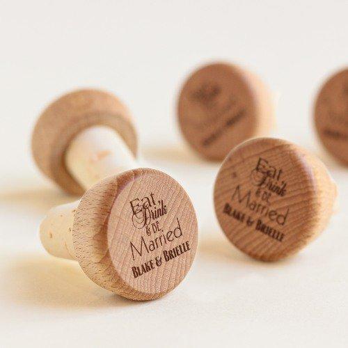 Personalized Wine Cork Stopper