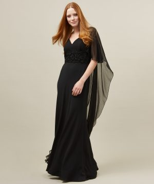 Phase Eight Vera Cape Dress