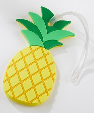 Pineapple Luggage Tag