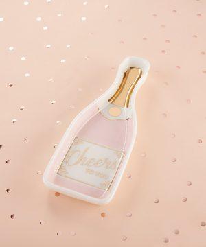 Pink Champagne Trinket Dish
