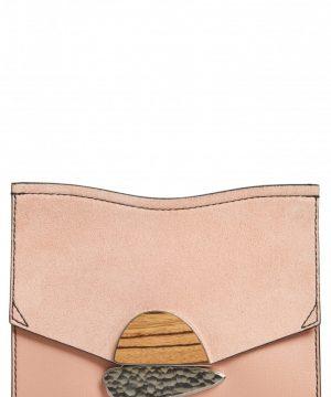 Proenza Schouler Small Calfskin Leather Clutch - Pink