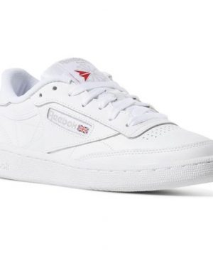 Reebok Women's Club C 85 in White / Light Grey Size 7 - Court,Lifestyle Shoes