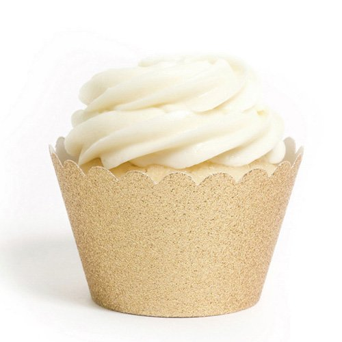 Reusable Glitter Cupcake Wrappers