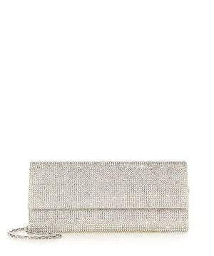Ritz Fizz Swarovski Crystal & Satin Clutch